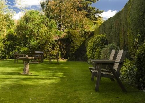 Garden at Heaton House