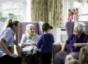 Building bridges between generations at Heaton House
