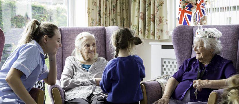 Building bridges between generations at Heaton House
